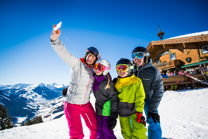wintersport with children